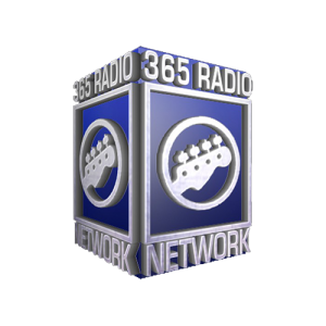 365 Radio logo cube